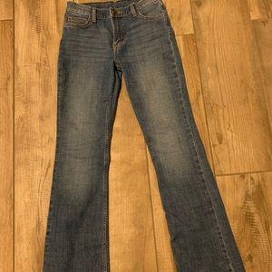 Wrangler Boot Cut Girls Jean 14 SLIM